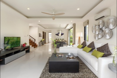 VILLAS - LIVING & DINING ROOM 1