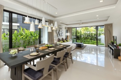 VILLAS - LIVING & DINING ROOM 2